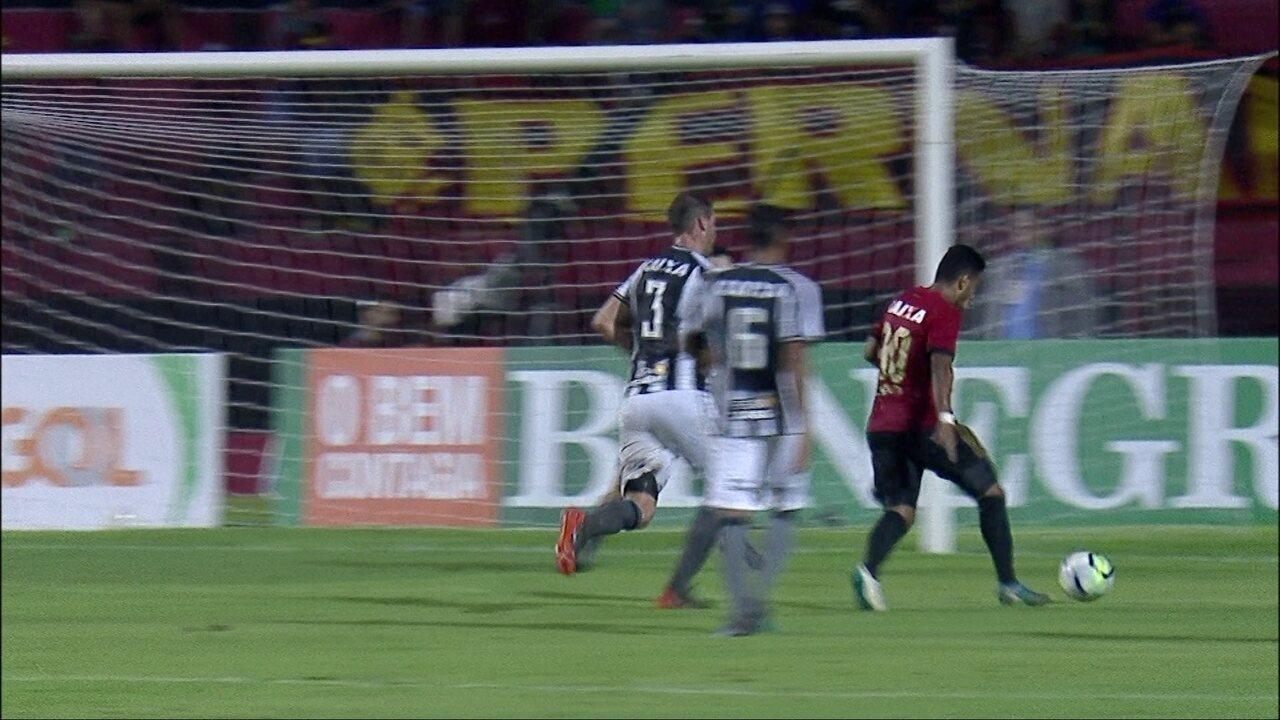 Melhores momentos de Sport 1 x 1 Botafogo pela 2ª rodada do Campeonato Brasileiro