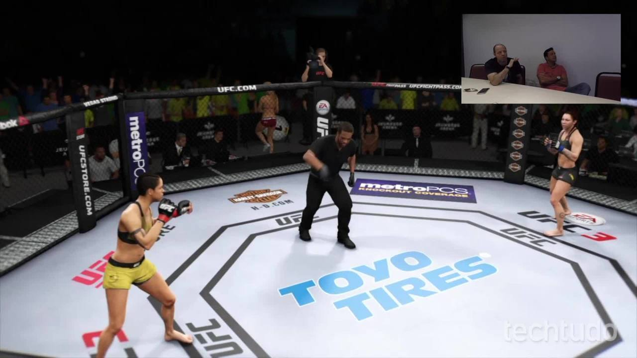 Vozes do canal Combate analisam o game EA Sports UFC 3