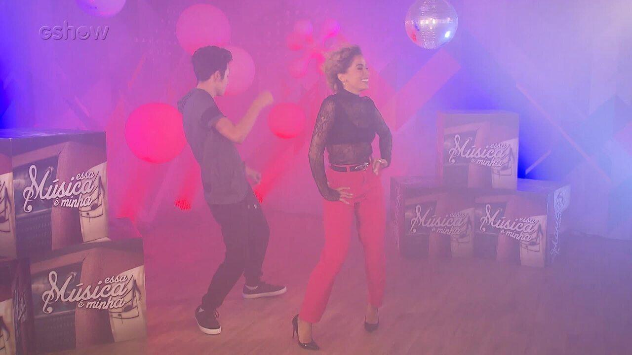 Anitta grava clipe com autor da canção para o 'Éssa Música É Minha'