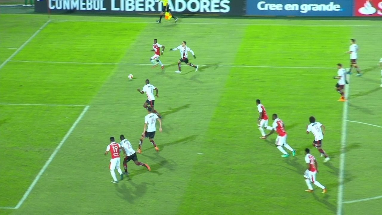 Melhores momentos de Santa Fé 0 x 0 Flamengo pela fase de grupos da Taça  Libertadores 894f77339944f