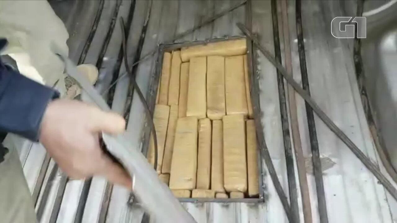 Quadrilha é presa com 164 kg de maconha transportadas do Paraguai para Fortaleza