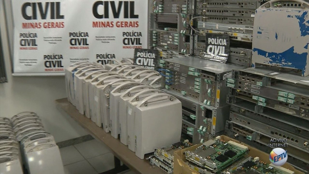 Dono de empresa provedora de internet é preso suspeito de receptação em Pouso Alegre, MG