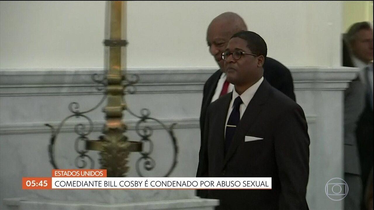 Comediante americano Bill Cosby é condenado por abuso sexual