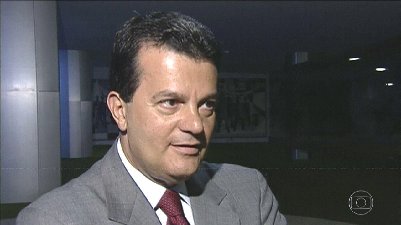 Ronaldo Cezar Coelho presta depoimento na PolAi??cia Federal