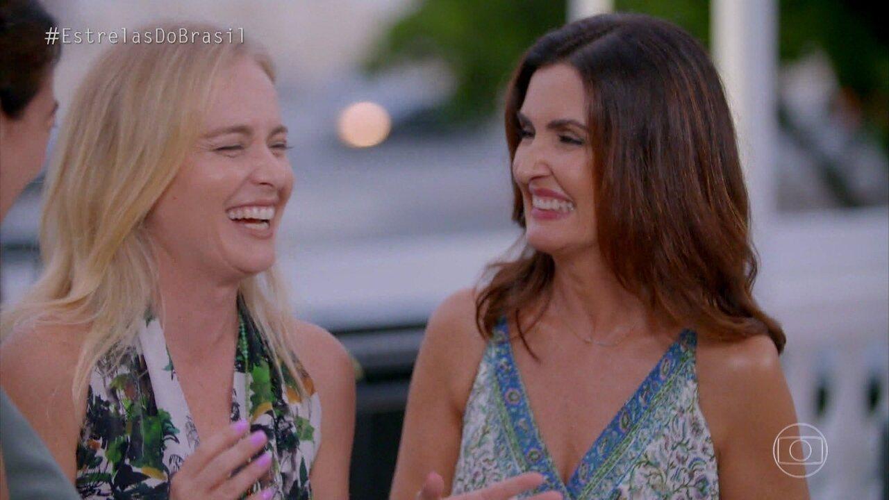 Angélica se despede último episódio da temporada em clima de música