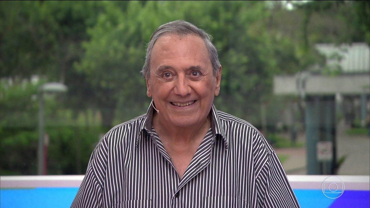 Agildo Ribeiro deu a seu público seis décadas de boas risadas