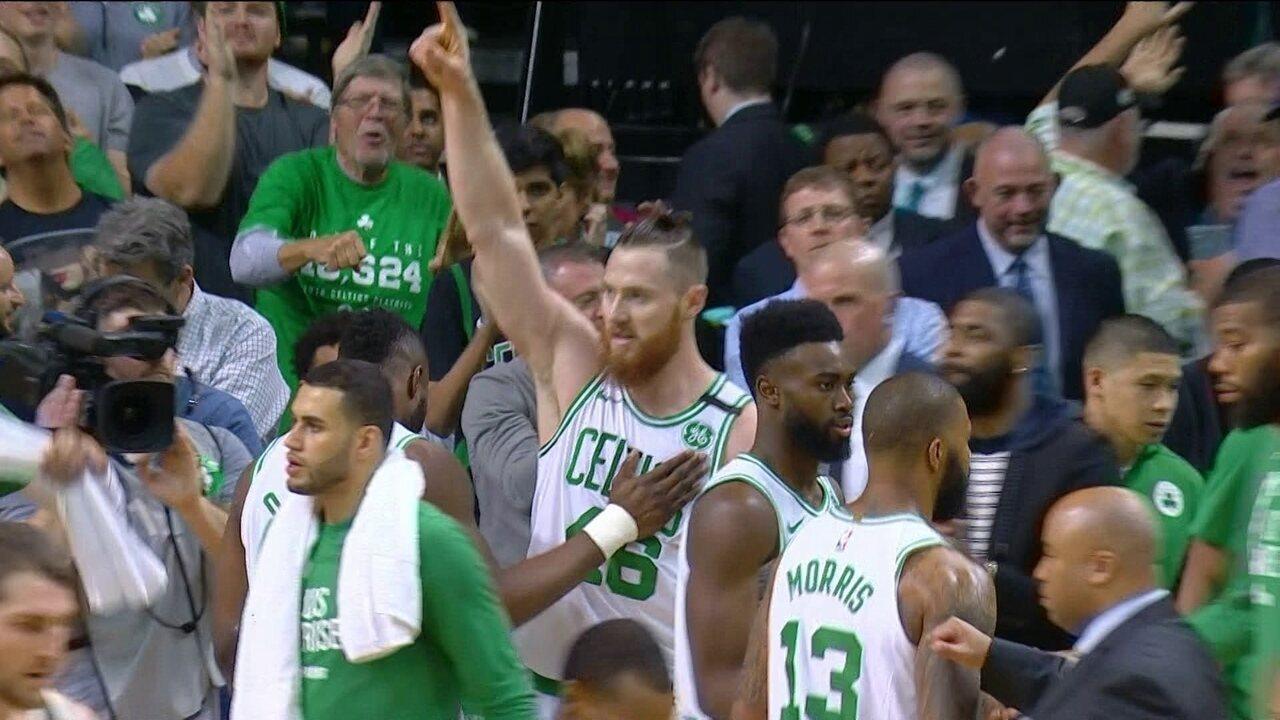 Melhores momentos: Boston Celtics 112 x 96 Milwaukee Bucks pela NBA