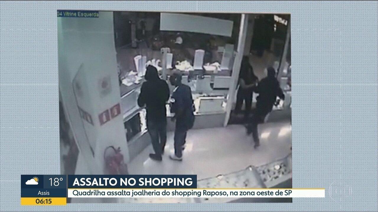 a91b70b0df0 Suspeito baleado durante assalto a joalheria em shopping de SP é ...