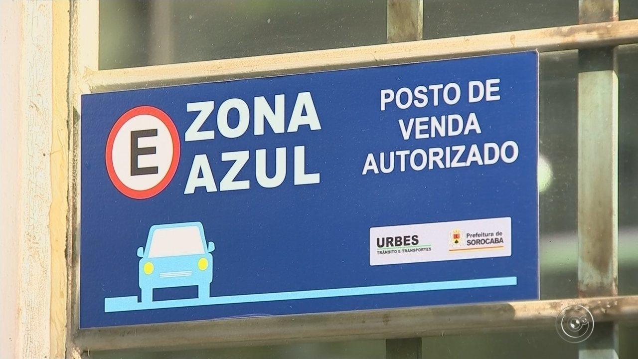 Mais de 7 mil motoristas foram multados por descumprirem regras da Zona Azul em Sorocaba