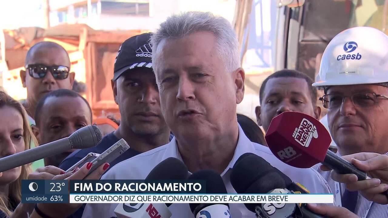Racionamento deve acabar, diz o governador Rodrigo Rollemberg