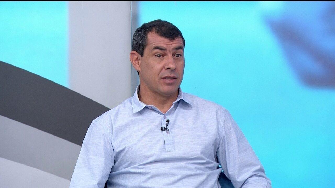 Carille admite mudança no planejamento do Corinthians por maratona de jogos