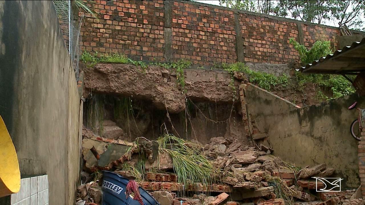 Chuva causa prejuízos em São Luís