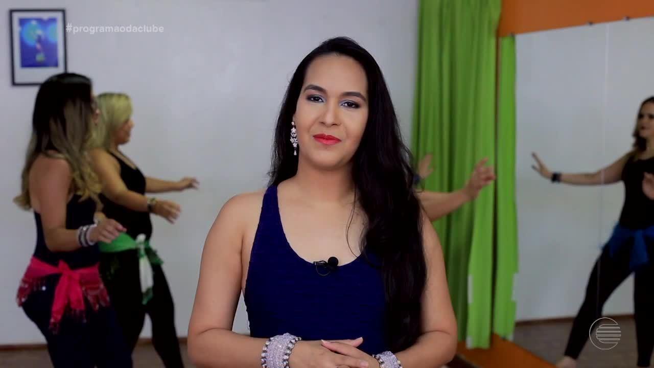 Professora Ana Paula manda ver na dança do ventre