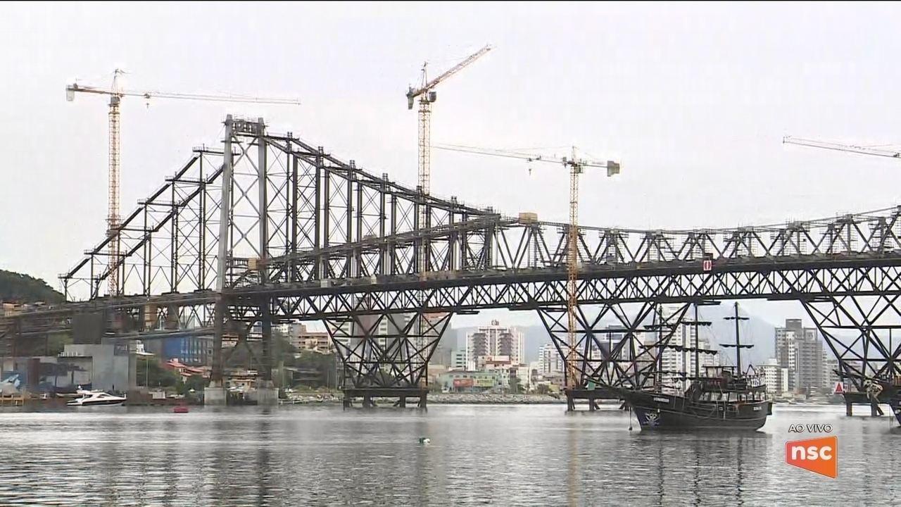 Governo anuncia que entrega da Ponte Hercílio Luz será novamente adiada