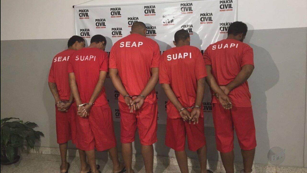 Quadrilha é presa suspeita de furtos de fios de cobre avaliados em R$ 300 mil em Lavras