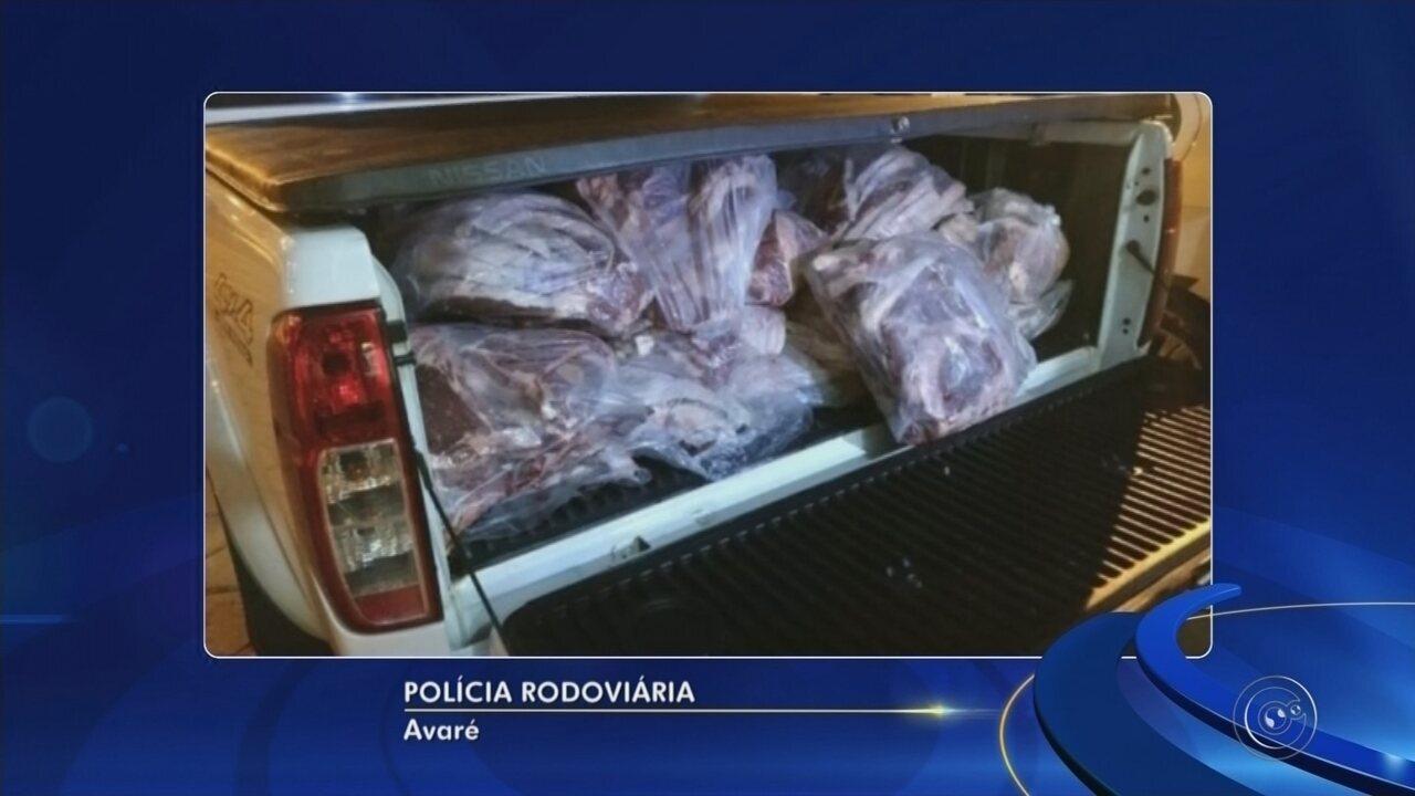 Quase 400 kg de carne inapropriada para consumo são apreendidas em Avaré