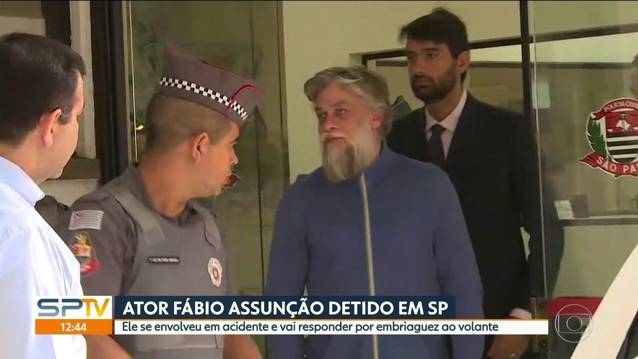 Ator Fábio Assunção é preso em São Paulo