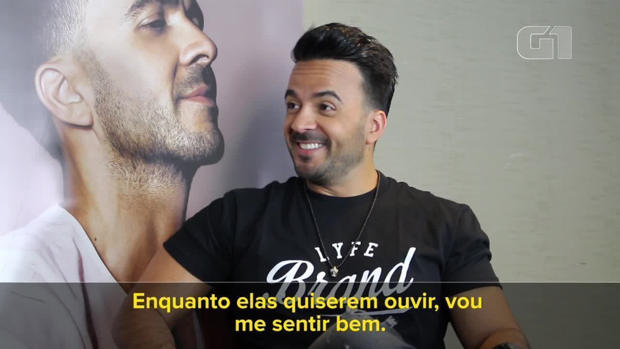Luis Fonsi fala ao G1 sobre cantar 'Despacito' depois de todo o sucesso da música