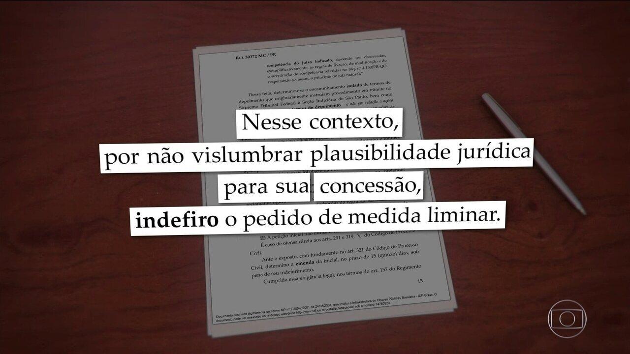 Dias Toffoli rejeita pedido da defesa de Lula e mantém com Moro processo sobre sítio