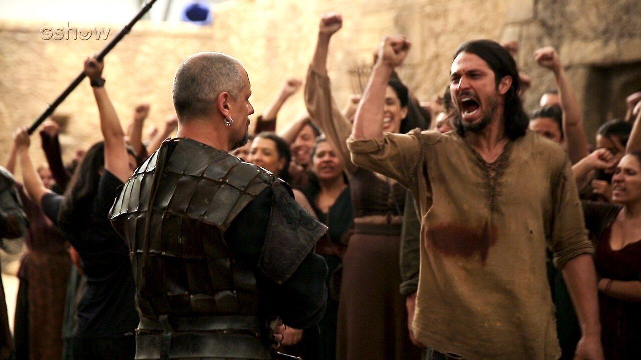 Veja os bastidores da chegada de Afonso a Montemor e derrubada de Rodolfo do trono