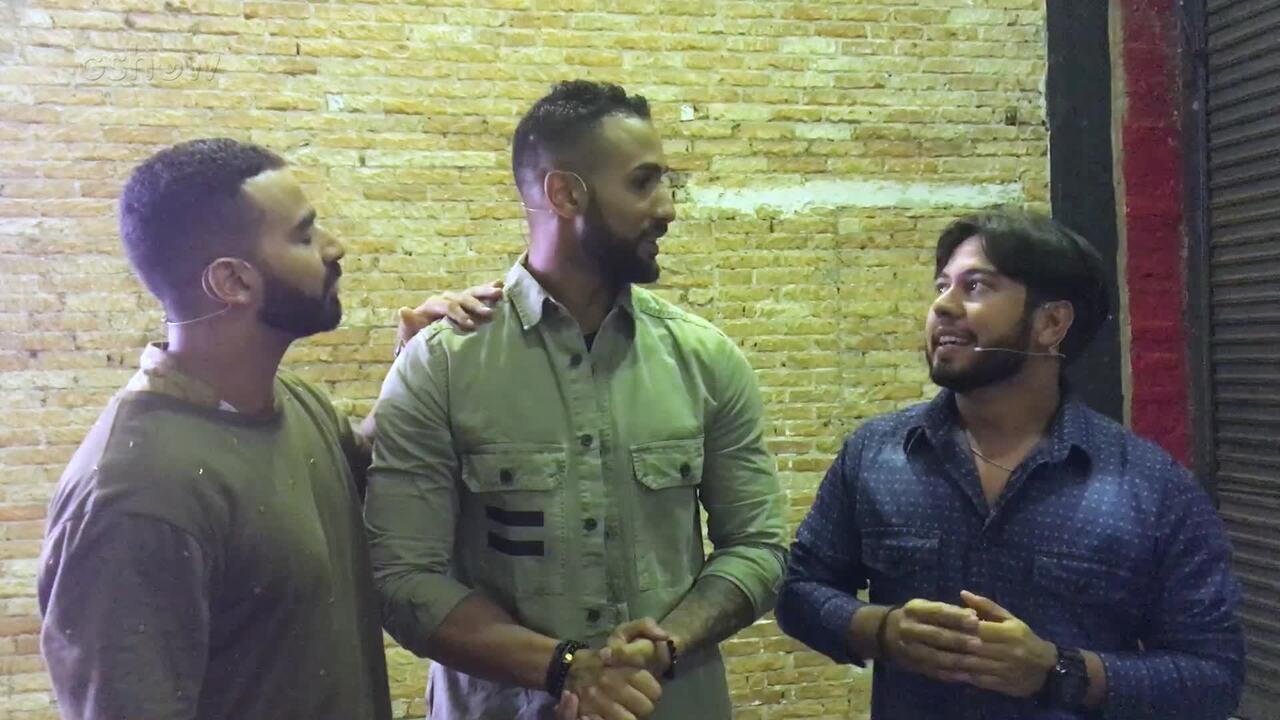 Irmãos Hussein e Mohamad comentam participação no 'The Wall'