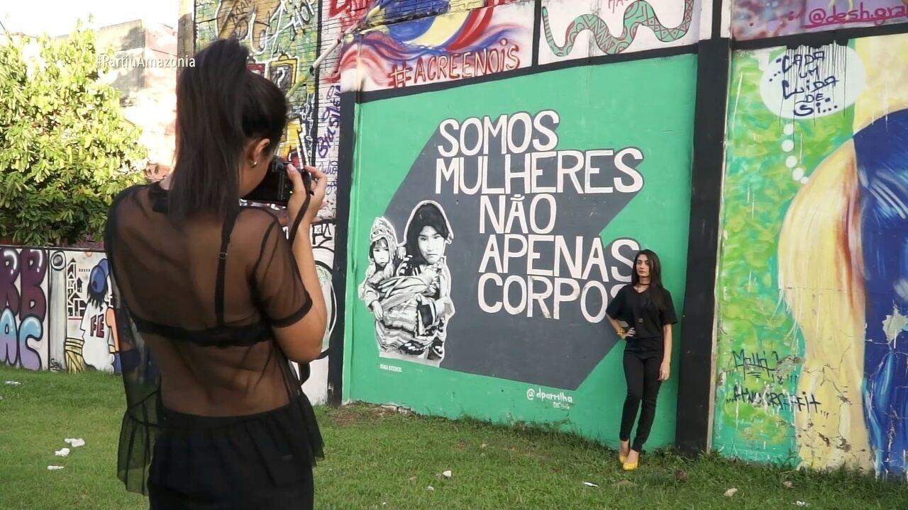 Parte 1: Em Rio Branco, Moacyr conhece a história da cidade e o painel HQ da realidade