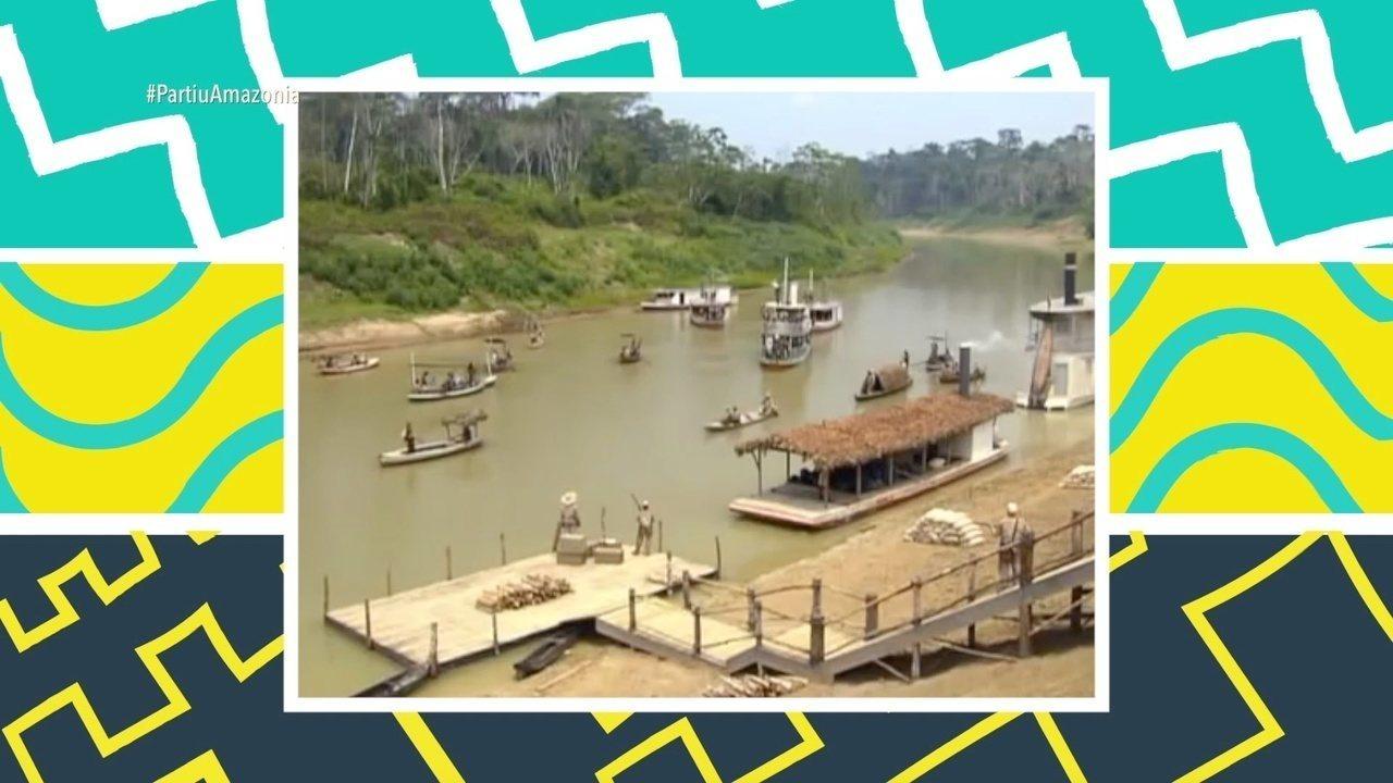 Parte 2: Moacyr visita Quixadá, local das gravações da minissérie Amazônia