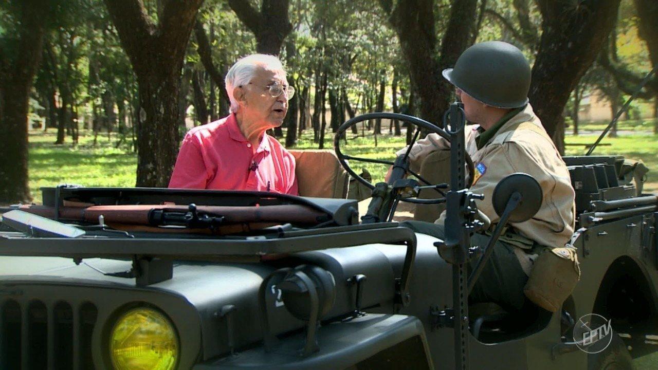 EsPCEx realiza tributo a ex-combatentes brasileiros da 2ª Guerra Mundial