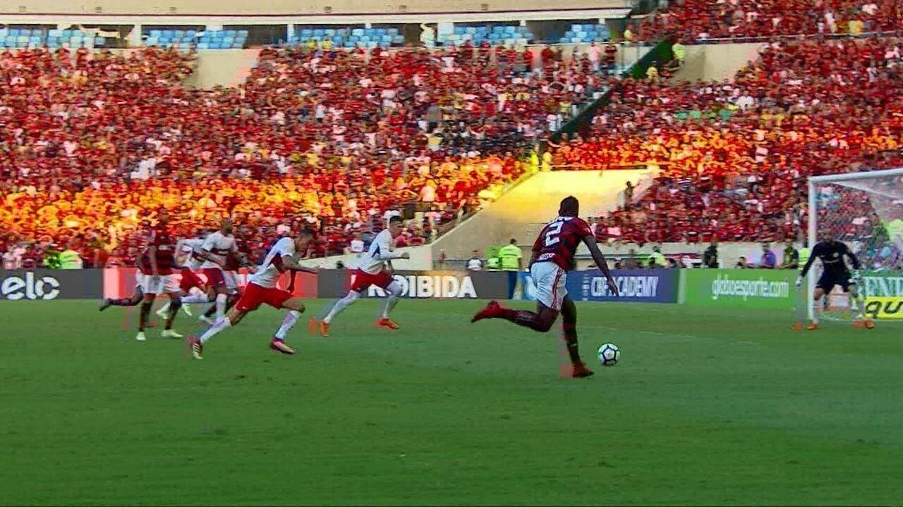 Melhores momentos: Flamengo 2 x 0 Internacional pela 4ª do Campeonato Brasileiro