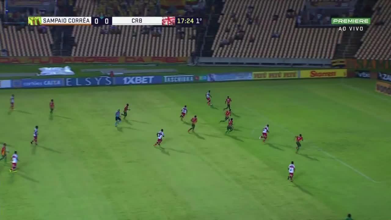 Os gols de Sampaio Corrêa 2 x 3 CRB