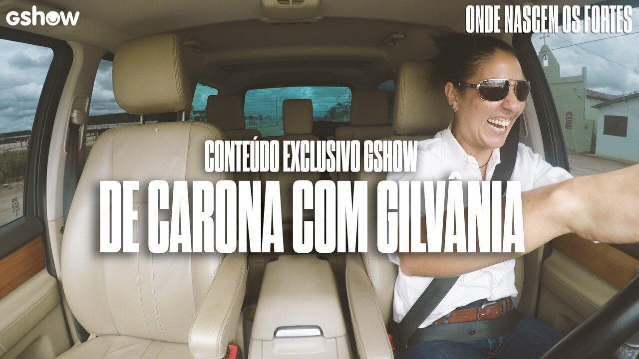 Gshow pega carona com Gilvânia e curte arrocha com a motorista