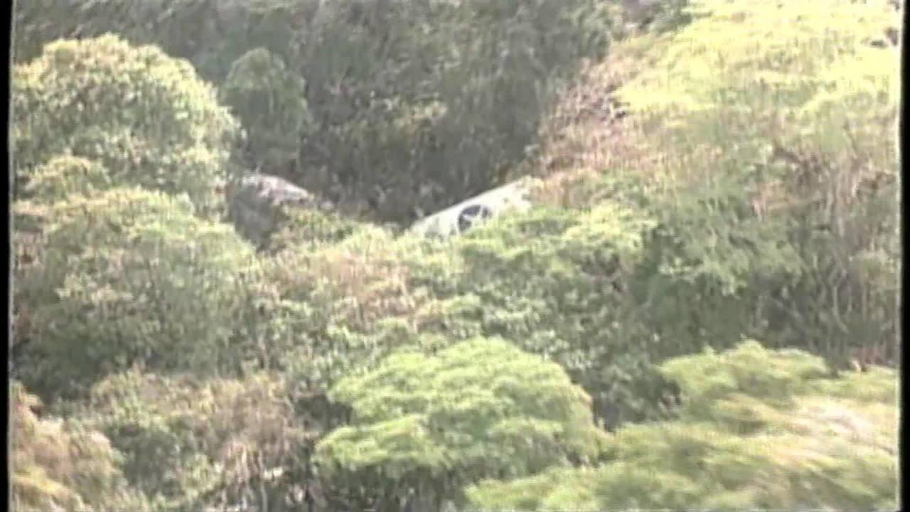 Trechos de reportagens veiculadas após o acidente com o avião da Varig, em 1989