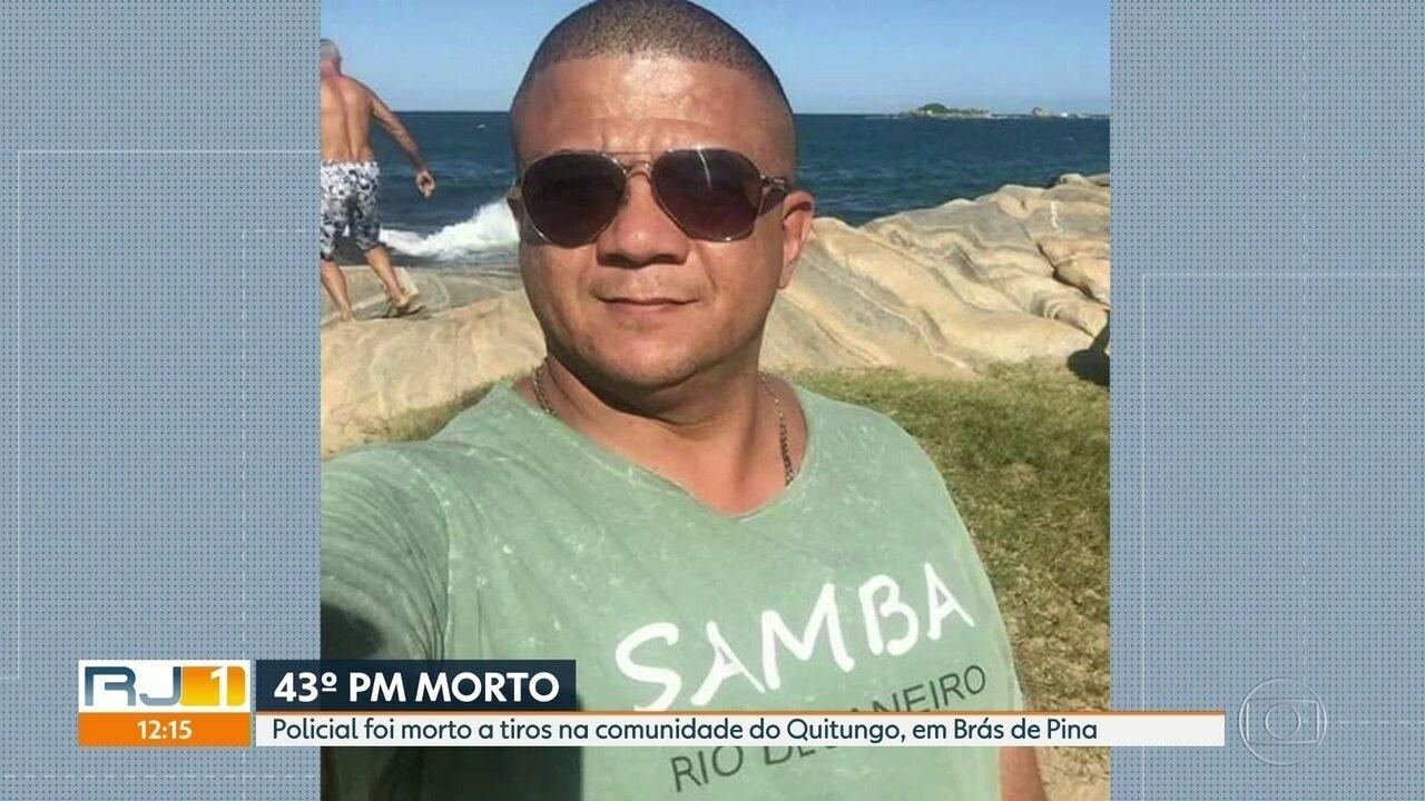 43º Policial Militar morto no Rio