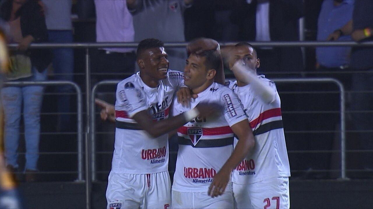 Melhores momentos de São Paulo 1x0 Rosario Central pela volta da 1ª fase da Sul-Americana