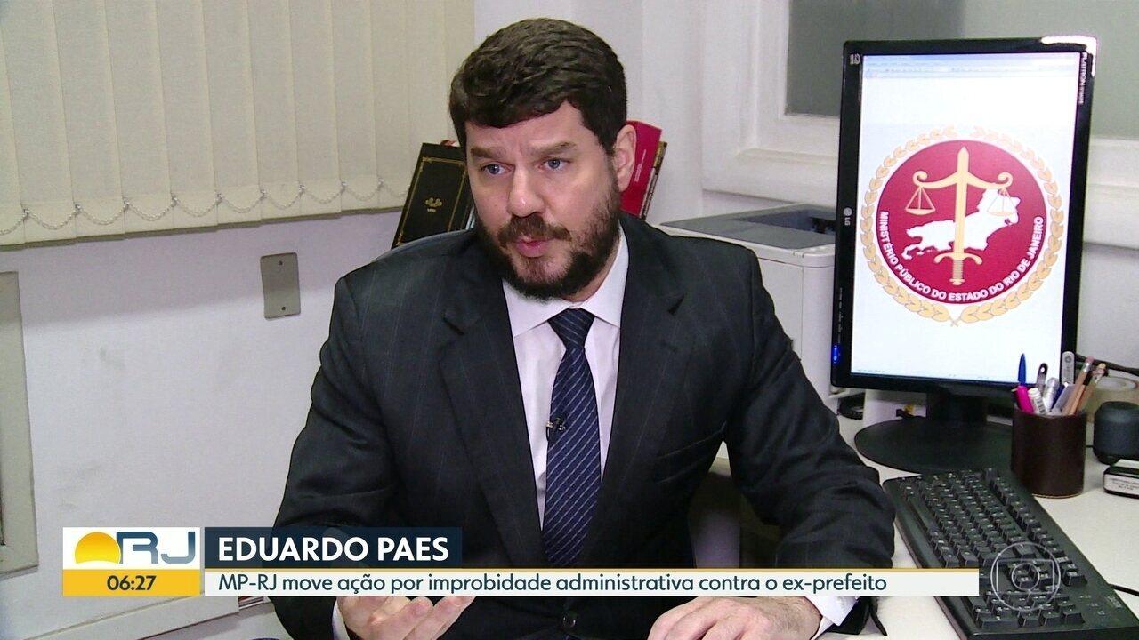 MP-RJ move ação contra Eduardo Paes (DEM-RJ)