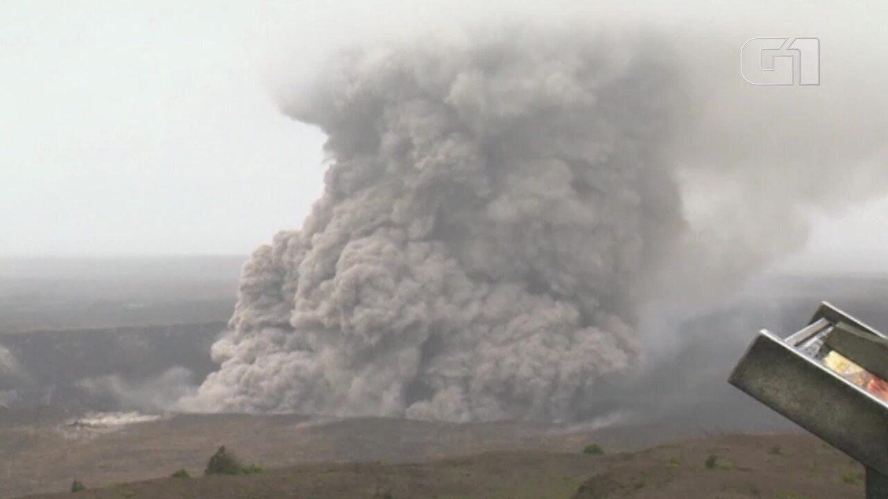 Parque nacional do Havaí fecha com medo de erupção vulcânica