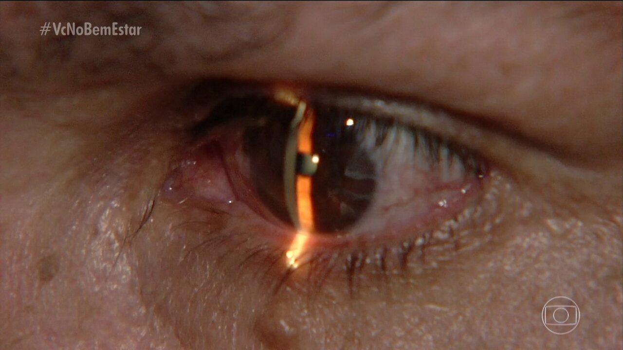 Pressão alta descontrolada pode prejudicar a visão