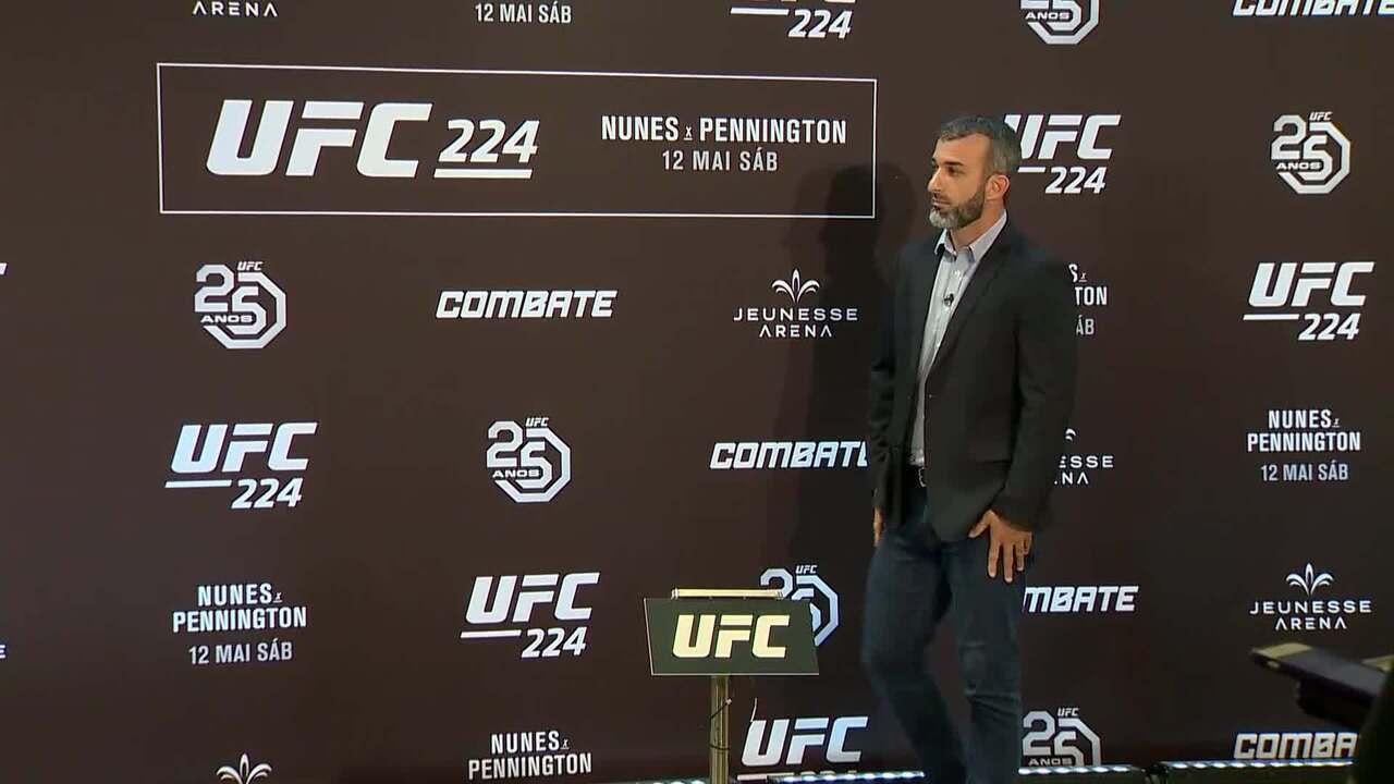 Amanda Nunes - pesagem UFC Rio 9