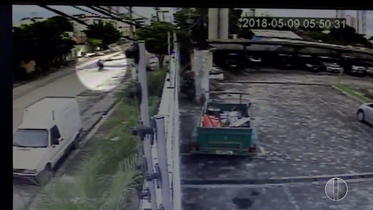 Vídeo mostra momento em que Luan Thales é baleado