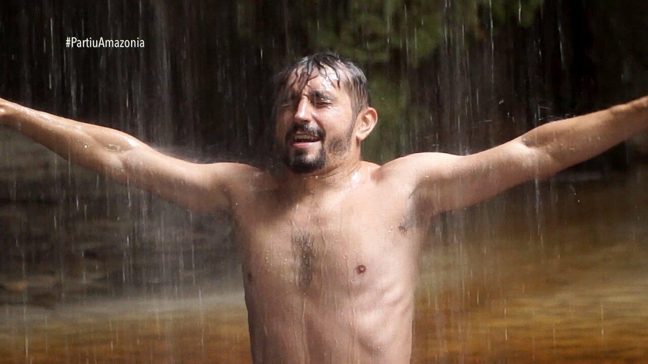 Parte 3: Na Gruta da Judeia, um banho para relaxar e agradecer