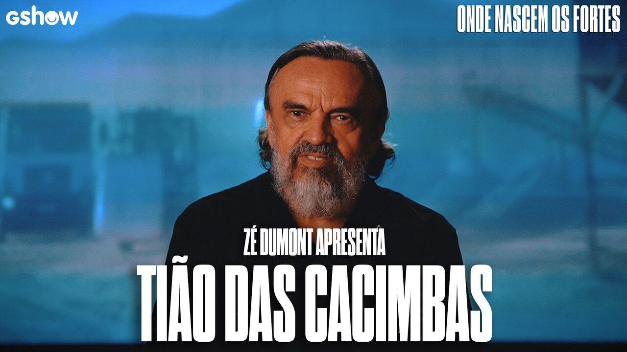 Zé Dumont fala sobre Tião das Cacimbas, seu personagem em 'Onde Nascem os Fortes'