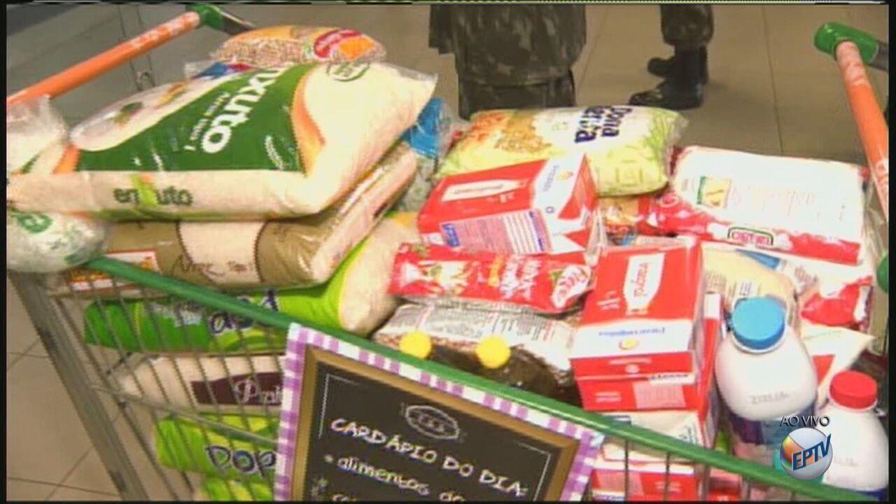 Fundo Social de Rio Claro faz campanha de arrecadação de alimentos neste sábado