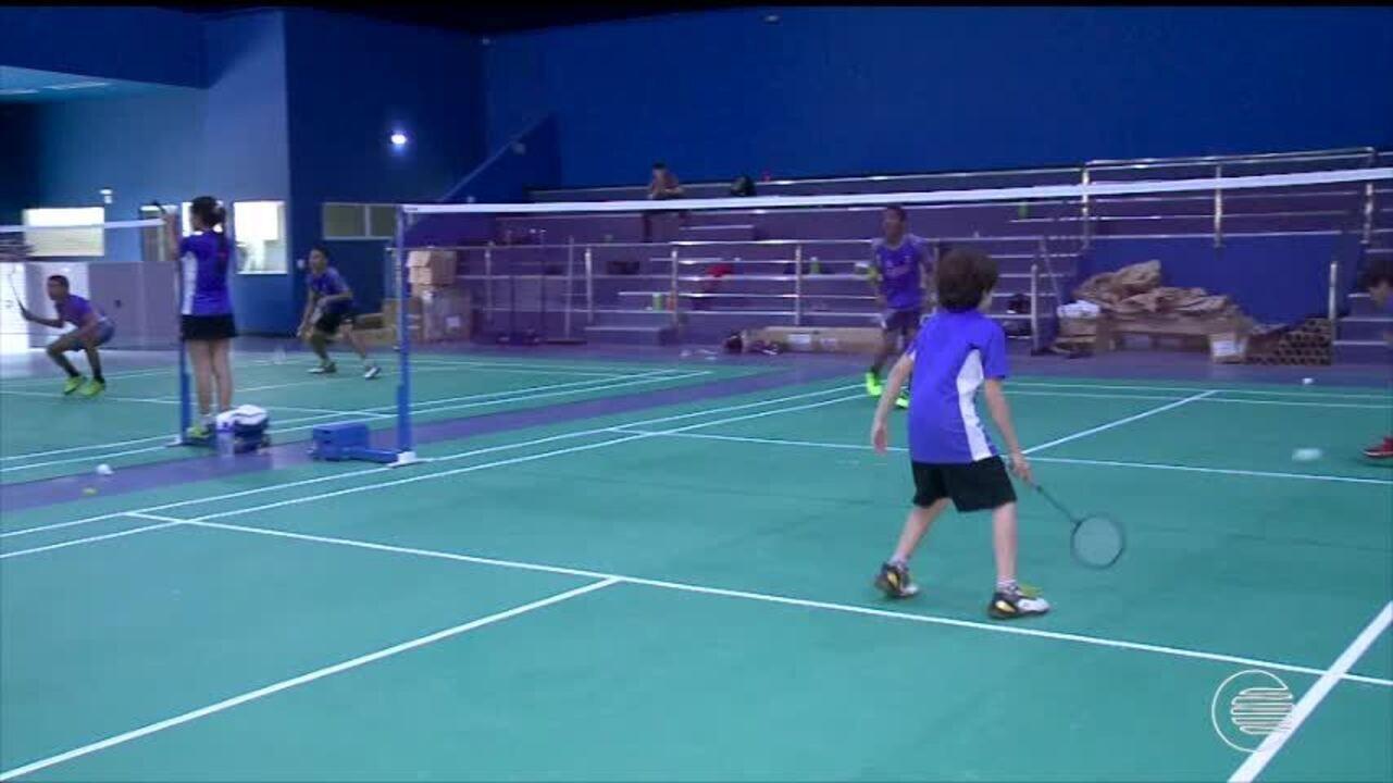 Piauienses se preparam para o Pan-Americano de badminton
