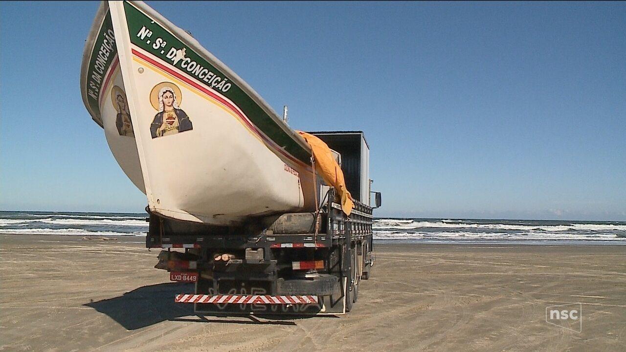 Início abaixo do esperado preocupa pescadores de tainha no litoral de SC