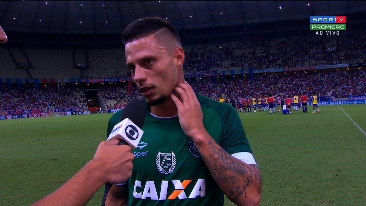 Rafinha lamenta derrota e diz que Goiás deve melhorar com Ney Franco