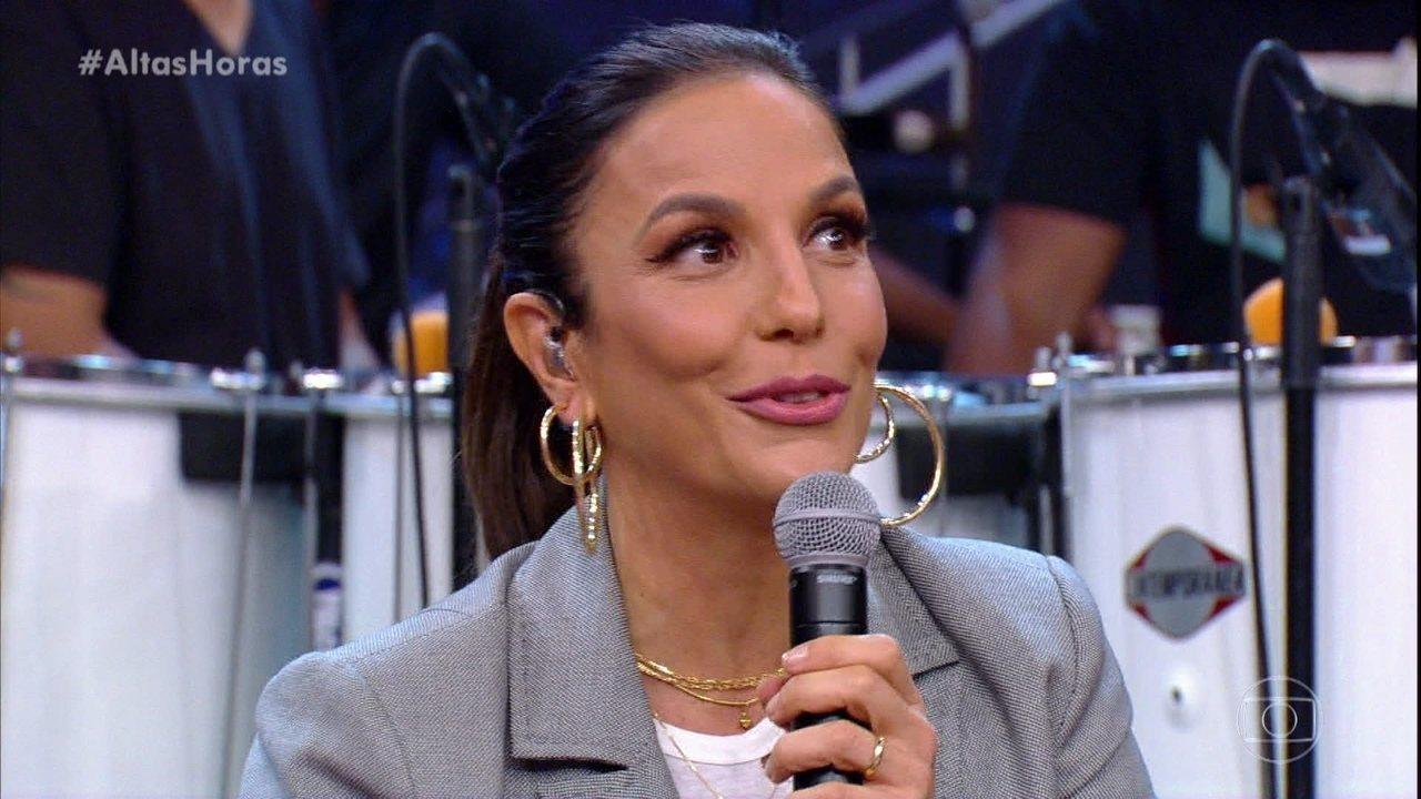 Ivete Sangalo responde se planejou a segunda gravidez