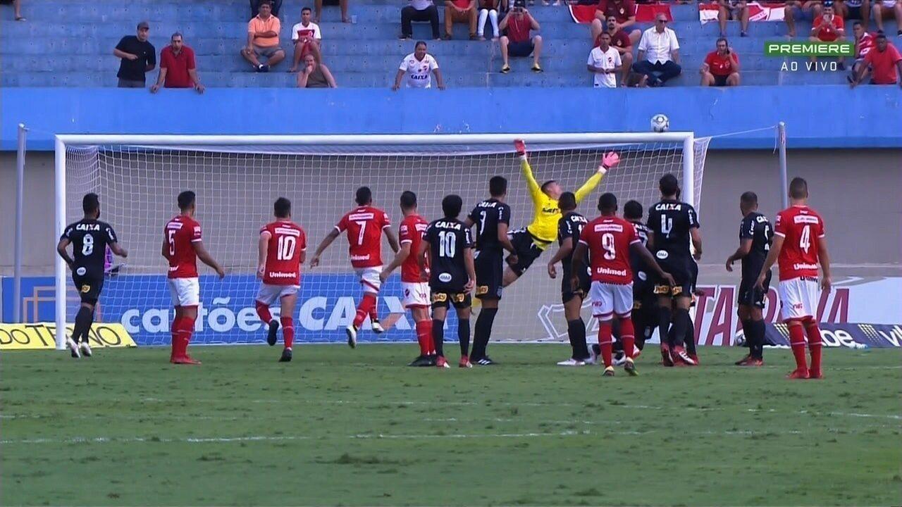 Os melhores momentos de Vila Nova 0x0 Ponte Preta