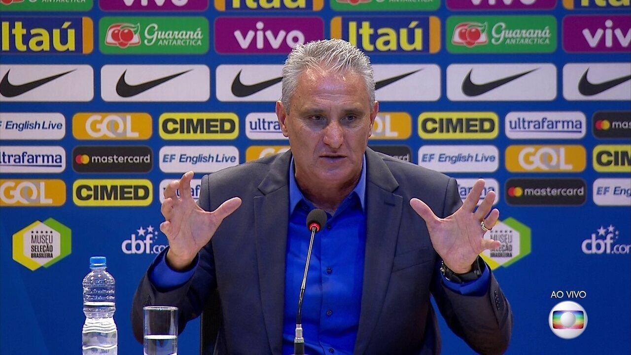 Tite fala sobre momento da Seleção: