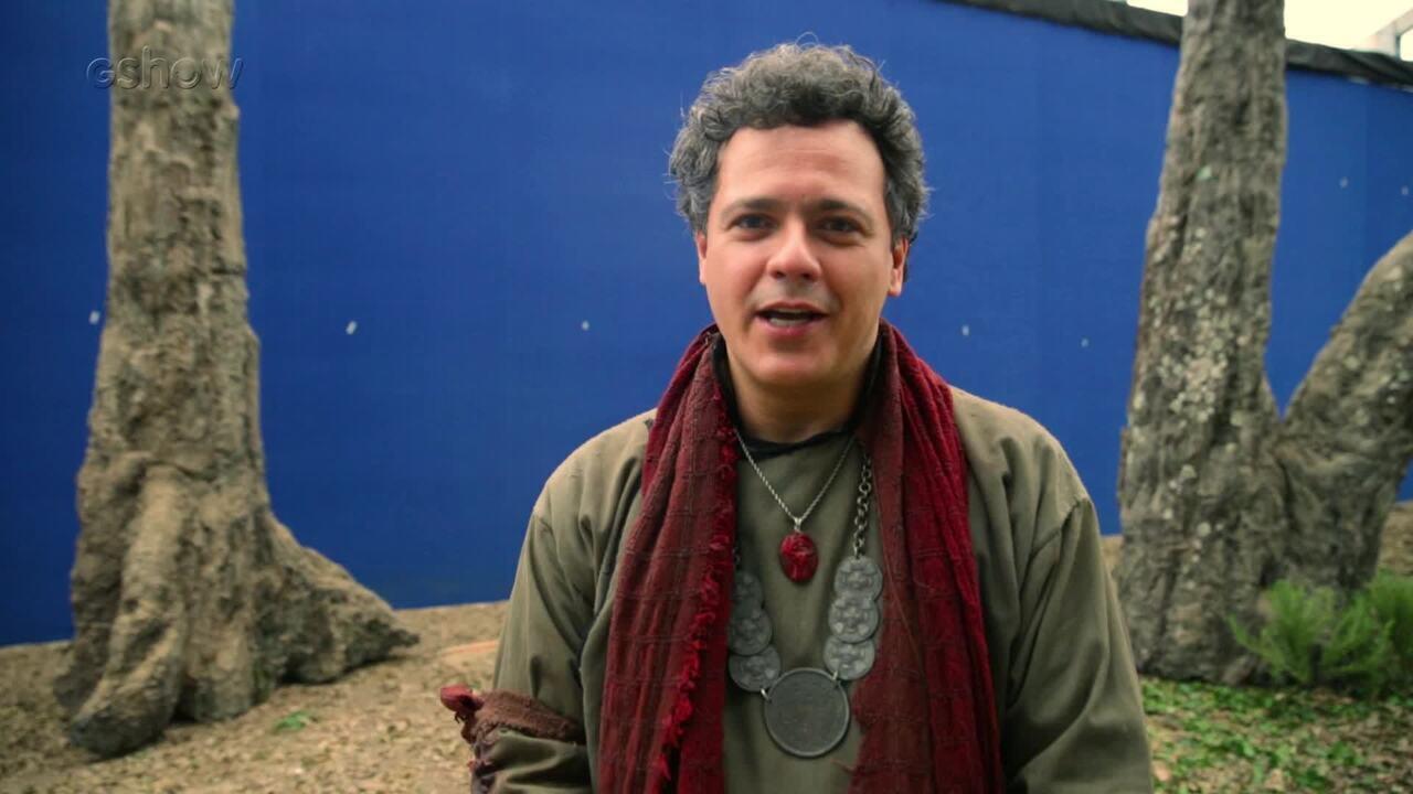 Danton Mello fala sobre Gregório e envolvimento de seu personagem com Amália
