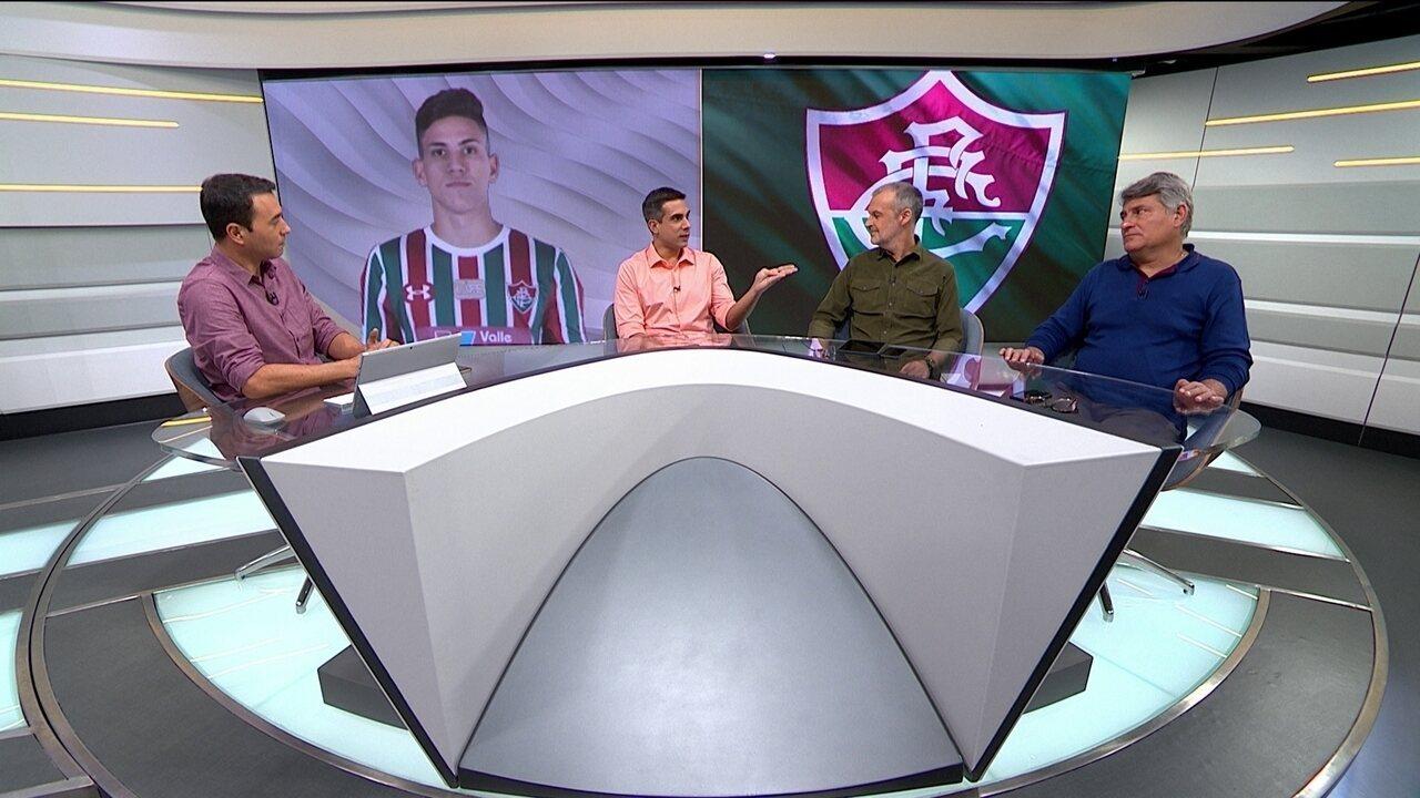 Comentaristas analisam desempenho do jovem atacante Pedro, do Fluminense
